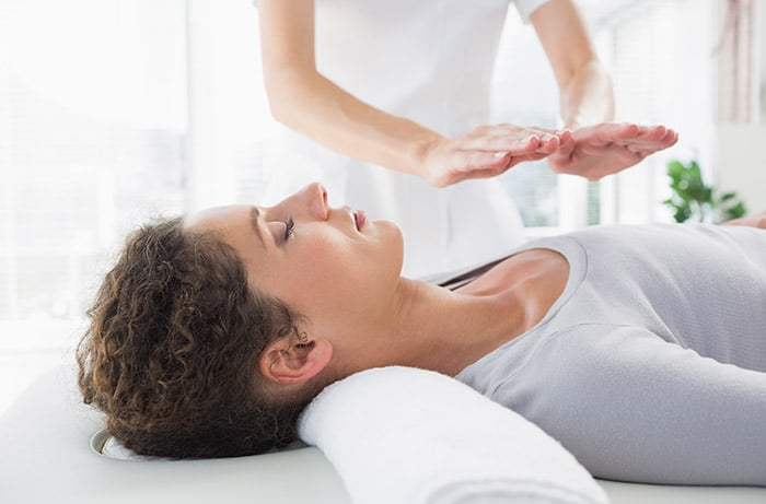 Therapist provides treatment while covered by reiki insurance