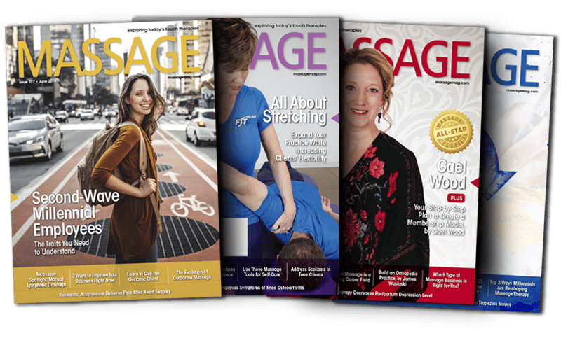 Massage Magazine Issues